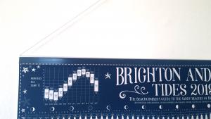 Tide Chart Poster Hanger