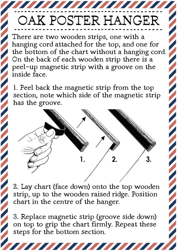 Oak Hanger Guidance Instructions