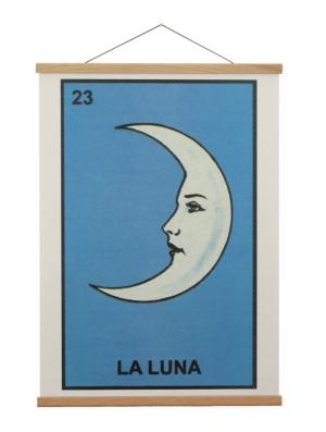 Oak Wood Vintage School Poster Hanger
