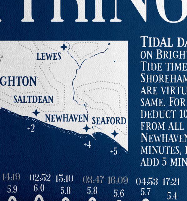 tide times 2021 Brighton Sharon Lee