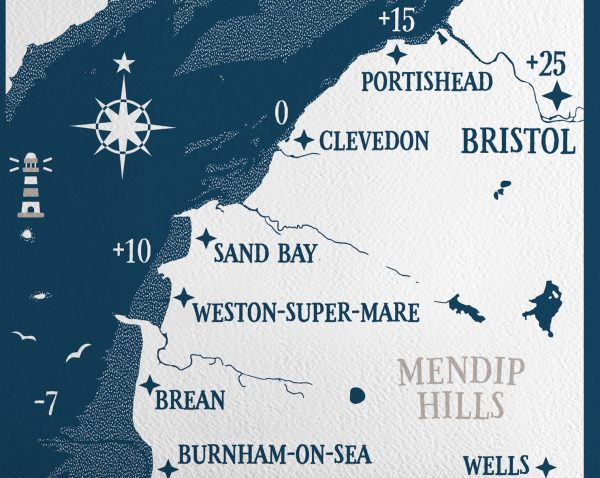 North Somerset Map Tides