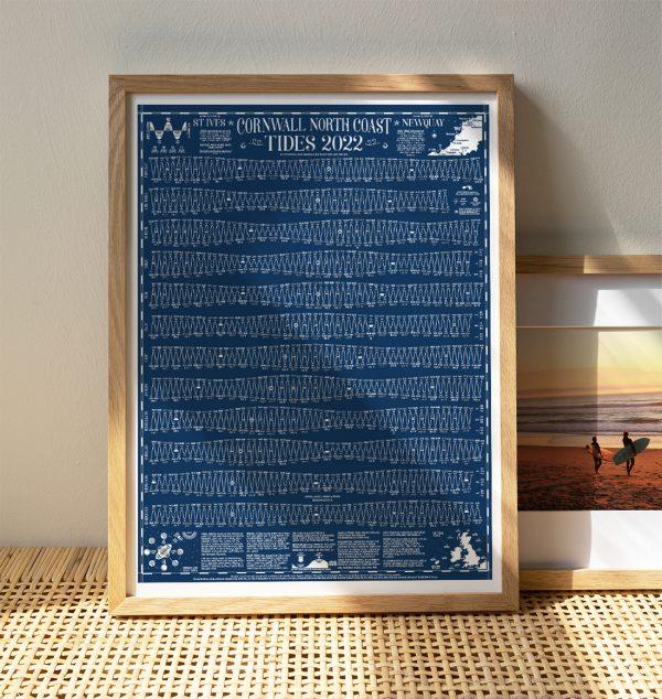 Tide Times Chart Cornwall North 2022