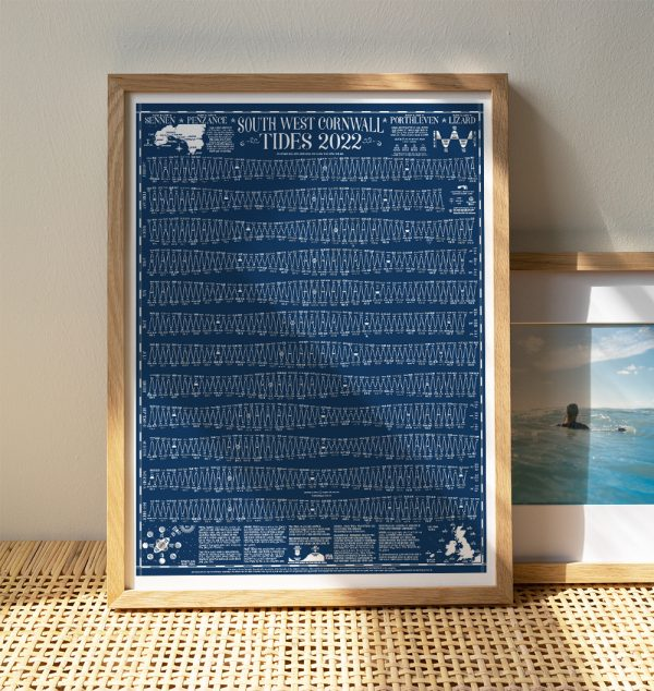 tide times chart 2022 Cornwall
