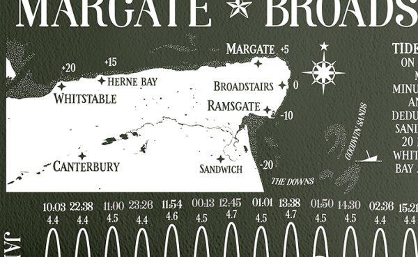 North East Kent Map